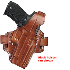 Galco F.L.E.T.C.H. High-Ride Belt Holster SIG Sauer P245 P228 & P229 Right Hand Leather Black FL250B