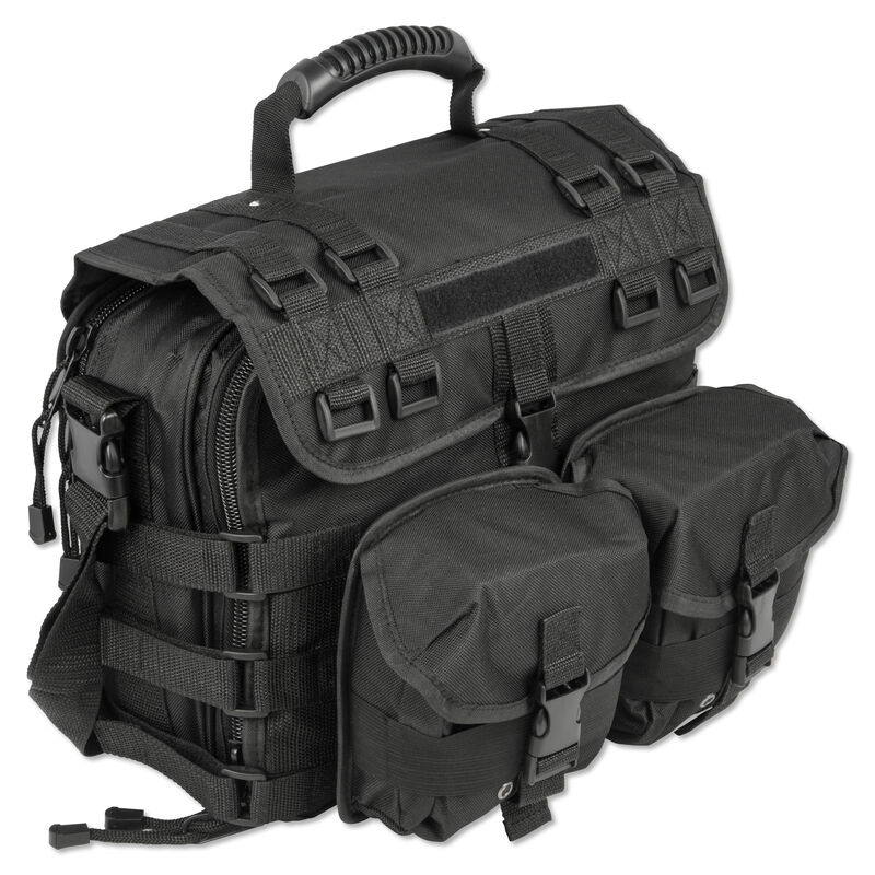 Personal Security Products Special Ops Day Bag With Handgun Pocket Black SPODB