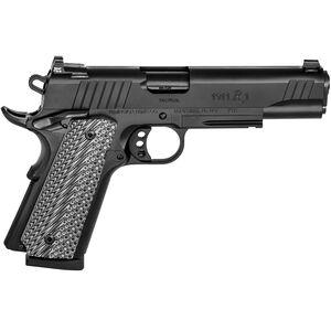 "Remington 1911 R1 Tactical Semi Auto .45 ACP Pistol 5"" Barrel 8 Rounds VZ G10 Grips PVD Black Finish"