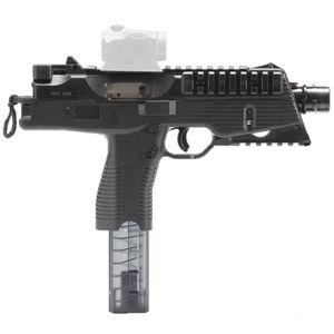 "B&T TP9-N Semi Auto Pistol 9mm Luger 5"" Barrel 30 Rounds Picatinny Optics Rail Low Profile Back Up Sights Ambidextrous Magazine Release/Safety Black"