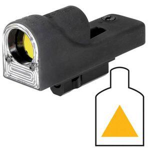 Trijicon Reflex Sight 1x24mm 12.9 MOA Amber Triangle Reticle 1 MOA Clicks M16 Carry Handle Mount Black RX06-25