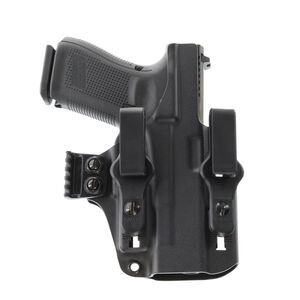 Galco Paragon IWB Holster for GLOCK 43/43X/48 Ambidextrous Polymer Black