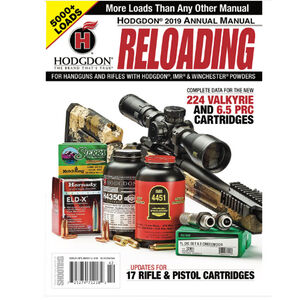 Hodgdon 2019 Annual Manual Over 5000 Loads Softcover