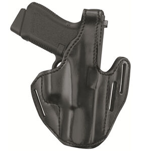Gould & Goodrich Leather 3 Slot Pancake Holster GLOCK 20/21 Right Handed Plain Finish Black B733-G20