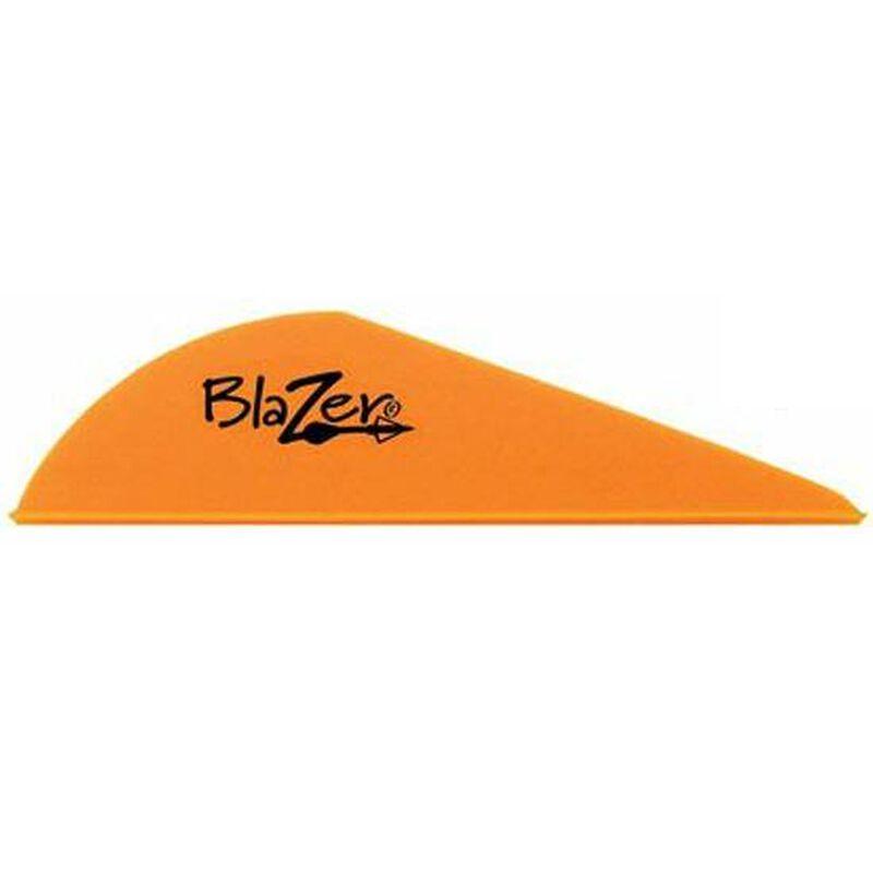 "Bohning Blazer Vanes 2"" Solid Neon Orange 100 Pack 10832NO2"