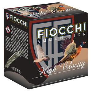 """Fiocchi High Velocity 28 Gauge Ammunition 3"""" #5 Lead Shot 1oz 1300fps"""