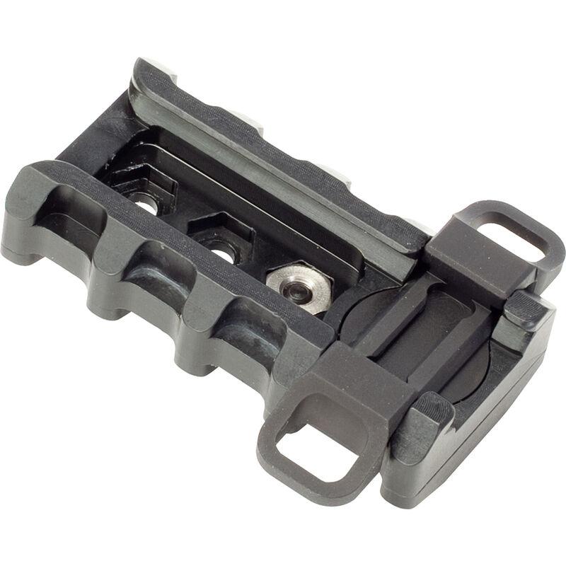 Badger Ordnance Tactical Rapid Adjustment Mount Point (TRAMP) For Harris Bipod Delrin/Anodized Aluminum Matte Black 249-75