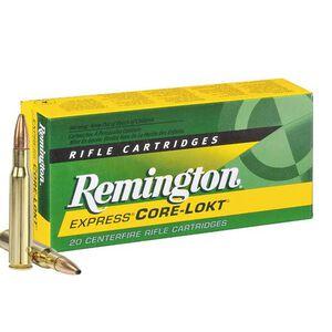 Remington Express 7mm-08 Remington Ammunition 20 Rounds 140 Grain Core-Lokt PSP Soft Point Projectile 2860fps