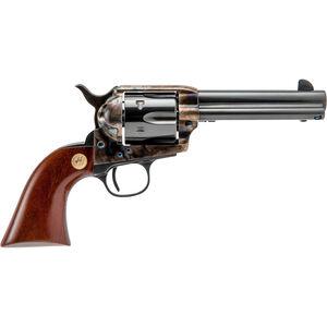 "Cimarron Model P Revolver .45 Long Colt 4.75"" Barrel 6 Rounds Wood Grips Case Hardened Finish"