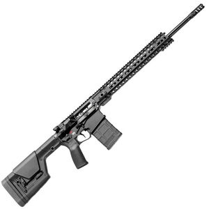 "POF Revolution Gen4 AR Style 6.5 Creedmoor Semi Auto Rifle 20"" Barrel 20 Rounds 14.5"" M-LOK Free Float Hand Guard MFT Furniture Matte Black"