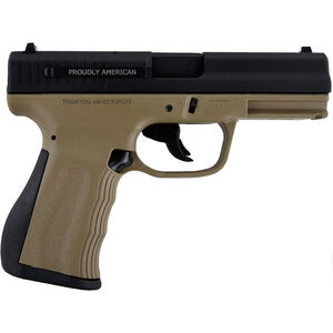 "FMK 9C1 Gen 2 9mm Luger Semi Auto Pistol 4"" Barrel 14 Rounds FDE Polymer Frame Black Finish"