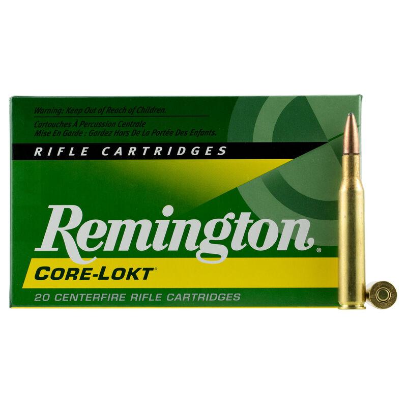 Remington Core-Lokt .270 Winchester Ammunition 20 Rounds 130 Grain PSP 3060fps
