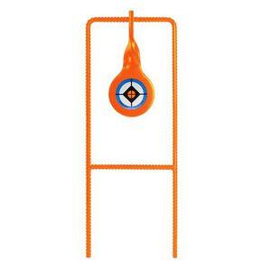 Do-All Outdoors .22 Rimfire Rebar Spinner Steel Reactive Target Rebar Frame Powder Coat Orange
