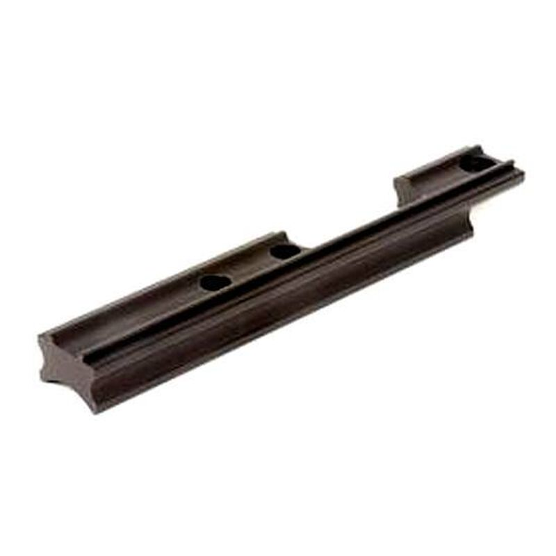 """Keystone Sporting Arms One Piece Stationary Mount Base 3/8"""" Dovetail Matte Blued Crickett 031"""