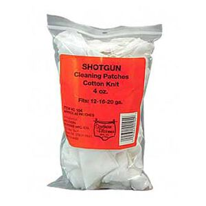 """Southern Bloomer Shotgun Cotton Cleaning Patch, RIbbed, 3""""x 3"""", Bag of 85"""