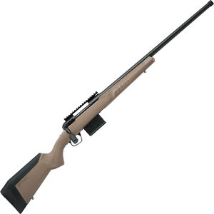 """Savage 110 Tactical Desert Bolt Action Rifle 6.5 Creedmoor 24"""" Heavy Threaded Barrel 10 Rounds Synthetic Adjustable AccuFit AccuStock Black Finish"""