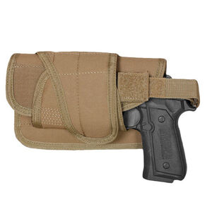Fox Outdoor Typhoon Horizontal Mount Modular Holster Large Autos Left Hand Nylon Coyote Tan 58-8885