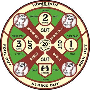 "Dura Mesh Archery Target Baseball Field 25""x32"""