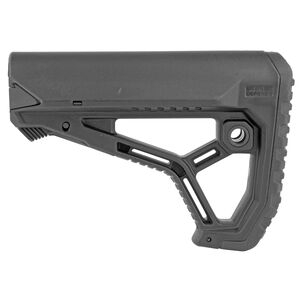 FAB Defense AR-15 GL-Core Carbine Buttstock Mil-Spec/Commercial Diameter Fiberglass Reinforced Polymer Composite Matte Black Finish