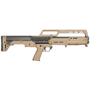 "Kel-Tec KS7 12 Gauge Pump Action Shotgun 18.5"" Barrel 6 Round Synthetic Stock Tan"