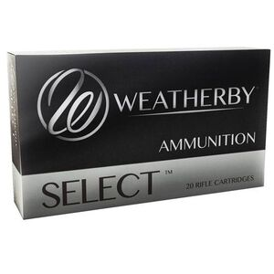 Weatherby Select 6.5x300 Weatherby Magnum Ammunition 20 Rounds 140 Grain Hornady Interlock 3384fps