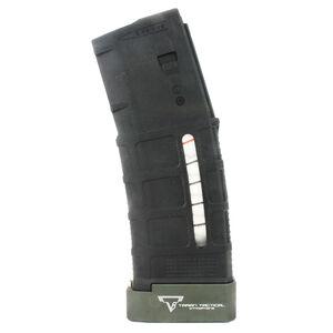 Taran Tactical Innovations Firepower Base Pad Kit +5/+6 Magpul PMAG Gen 3 30/40 Magazines CNC Machined Billet Aluminum Anodized OD Green Finish
