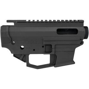 Angstadt Arms 0940 Pistol Caliber AR-15 Upper/Lower Receiver Set 9mm/.40 S&W/.357 SIG Billet Aluminum Accepts GLOCK Style Magazines Black Finish