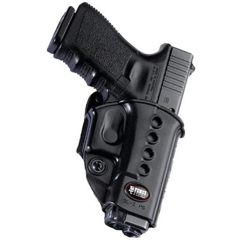 Fobus Evolution Holster Beretta 92,96,PX4 Storm/FN FNS,FNX/S&W Shield .45/Taurus G3 Right Hand Belt Attachment Polymer Black