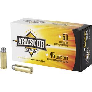 Armscor USA .45 Colt Ammunition 50 Rounds LFN 255 Grain