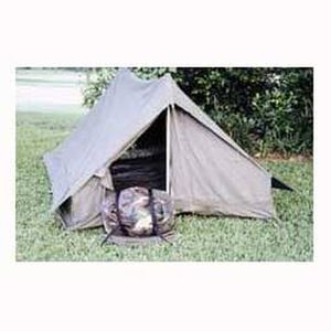 Origianl French Military F1 Combat Ground Troop Two Person Tent in Like New Condtion