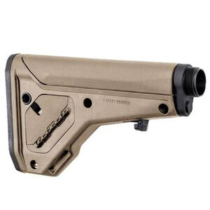 Magpul UBR Gen2 Collapsible/Adjustable Stock AR-15/AR-10 Carbine/A5 Receiver Extensions QD Sling Points Footman's Loop Synthetic Polymer Flat Dark Earth Finish
