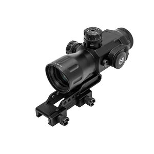 Leapers UTG AccuShot 4x32 Compact Prismatic T4 Scope 32mm Black SCP-T4IETDQ