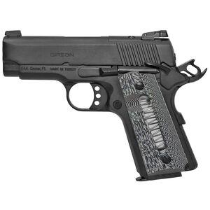 "EAA GiRSAN MC1911SC Ultimate .45 ACP Semi Auto Pistol 3.4"" Barrel 6 Rounds G10 Grips with Window Matte Black"