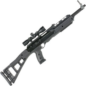 """Hi-Point 4095TS4 Semi Automatic Carbine .40 S&W +P 17.5"""" Barrel 10 Rounds All Weather Black Molded Polymer Stock Includes 4x Scope"""