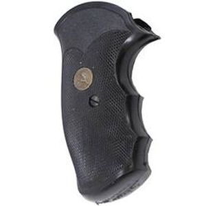 Pachmayr Gripper Grips S&W J Frame Square Butt Rubber Black 03250