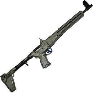"Kel-Tec SUB-2000 G2 .40 S&W Semi Auto Rifle 16.25"" Barrel 15 Rounds M-Lock Uses GLOCK 22 Style Mags Adjustable Stock OD Green"