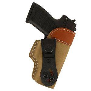 DeSantis 106 H&K USP Full Size 9/40 Sof-Tuck Inside the Pant Right Hand Leather Tan