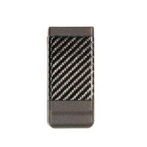 BLACKHAWK! CQC Single Stack Magazine Case Polymer Black Carbon Fiber Finish 410500CBK