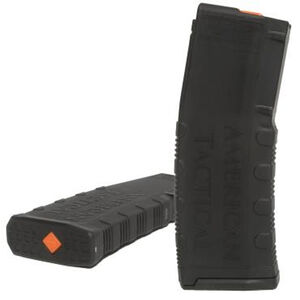 American Tactical Amend2 AR-15 Magazine 30 Round .223/5.56/.300 AAC Blackout Polymer Matte Black