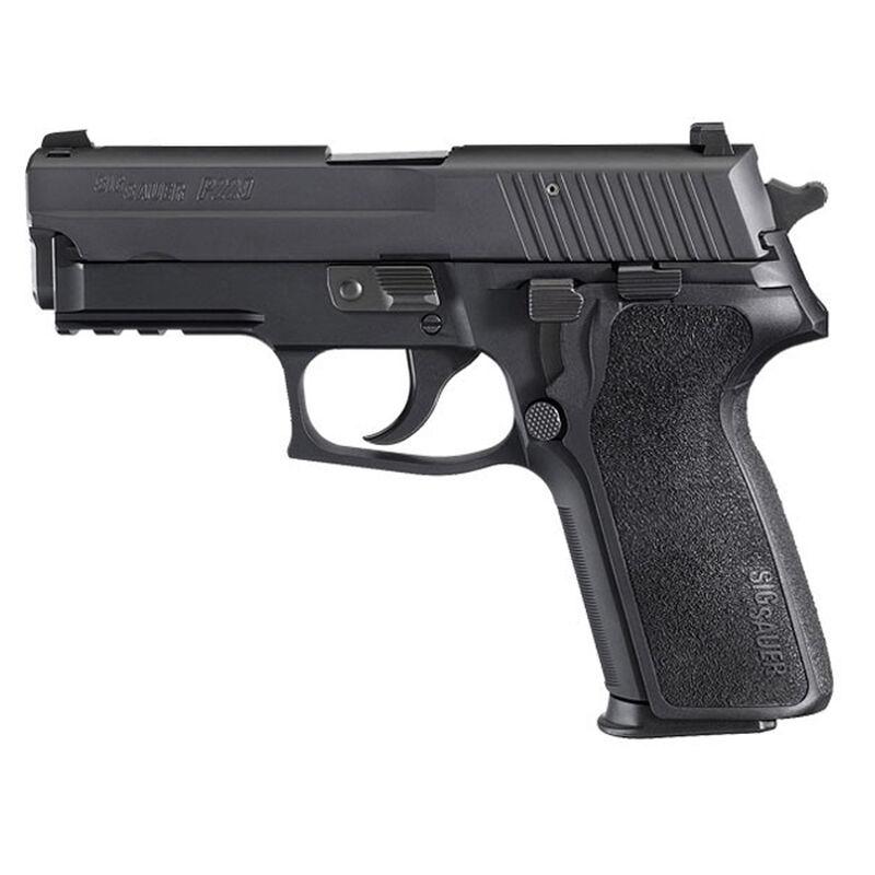 "SIG Sauer P229 Nitron Compact Semi Auto Pistol .40 S&W 3.9"" Barrel 12 Rounds SIGLite Sights SIG Rail E2 Grip Alloy Frame Matte Black Finish"