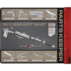 """Real Avid 1911 Smart Mat 19""""x16"""" with Parts Tray Chemical Resistant"""