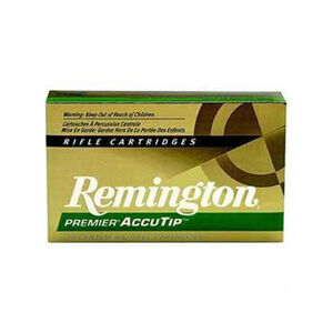 Remington .30-06 Springfield Ammunition 20 Rounds, AccuTip, 180 Grains