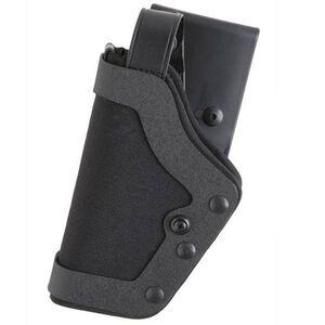 Uncle Mike's PRO-3 GLOCK 17, 19, 22, 23, 31 Duty Holster Left Hand Size 20 Kodra Nylon Black 35212