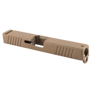 Polymer 80 GLOCK 17 Gen3 Compatible Standard Slide 17-4 Stainless Steel FDE PVD Finish