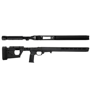 Magpul Pro Stock for Remington 700 Short Action Calibers M-LOK Modular Attachment Slots Full Billet Aluminum Skeleton Ambidextrous Matte Black Finish