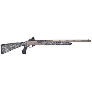 "EAA GiRSAN MC312 Gobbler 12 Gauge Semi Auto Shotgun 24"" Barrel Pistol Grip 3.5"" Chamber Inertia Driven System Screw In Choke System Synthetic Furniture Camo  390160"
