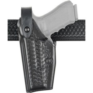 Safariland 6285 SLS Duty Holster Fits Beretta M9A1 with Insight M3/M6 Left Hand Hardshell STX Basketweave Black