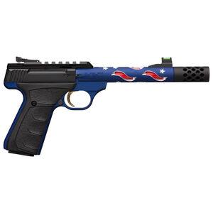 "Browning Buck Mark Plus Vision Americana .22 Long Rifle Semi Auto Pistol 5-7/8"" Barrel 10 Rounds F/O Front Sight Alloy Frame Americana Finish"