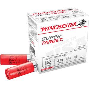 "Winchester AA Super Target 12 Gauge Ammunition Pack 2-3/4"" Shell #9 Lead Shot 1-1/8 oz 1145fps"