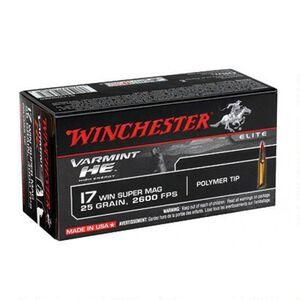 Winchester Varmint HE .17 WSM Ammunition 500 Rounds, PT, 25  Grain